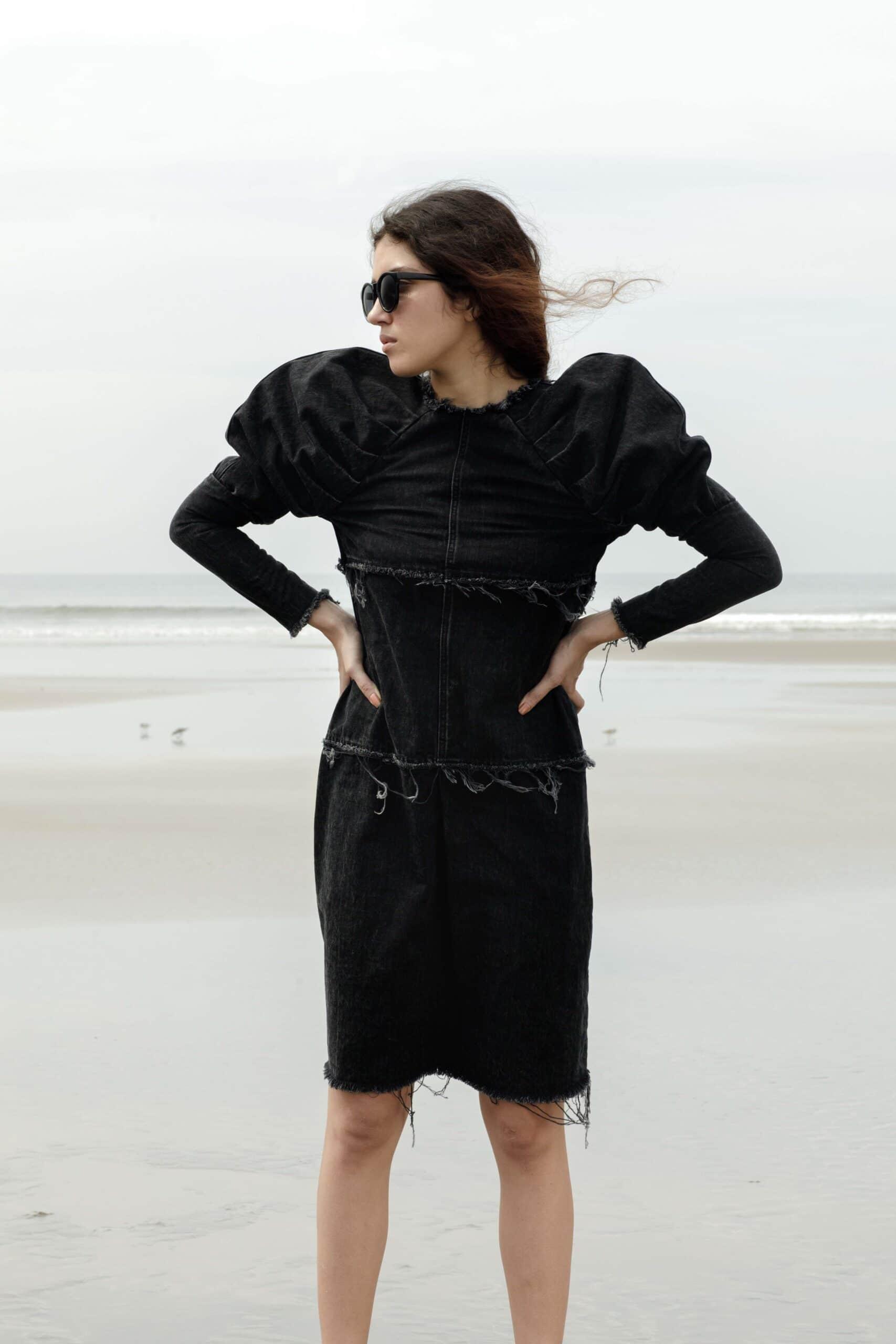 Tide dress (Black)